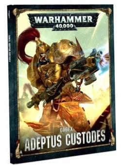 Codex: Adeptus Custodes  livre