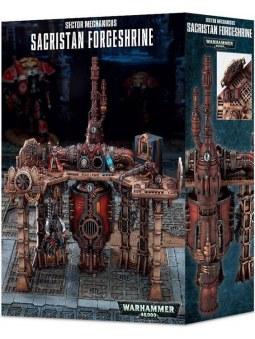 Sector Mechanicus: Sacristan Forgeshrine décor