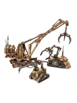 Sector Mechanicus:Galvanic ServoHaulers décor