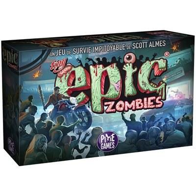 Jeudi nouveauté / Club social : Tiny Epic Zombies