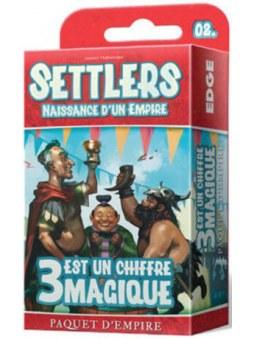 Settlers : 3 Est Un Chiffre Magique jeu