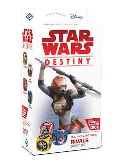 Star Wars Destiny : Starter Rivaux Paquet Draft jeu