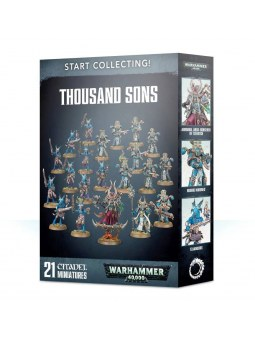 Warhammer 40k : Start Collecting! Thousand Sons