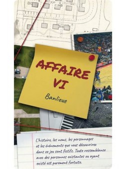 Detective - Extension Affaire 6 jeu
