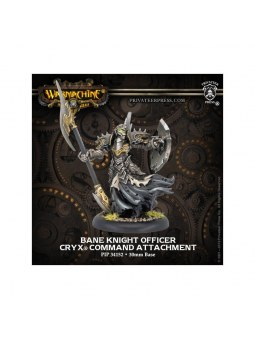 Cryx Bane Knight Officer Command