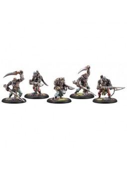 Cryx Black Ogrun Boarding Party Unit