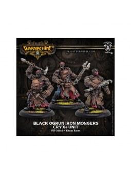 Cryx Black Ogrun Iron Mongers Unit