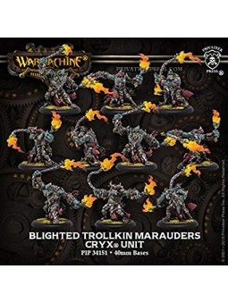Cryx Blighted Trollkin Marauders Unit