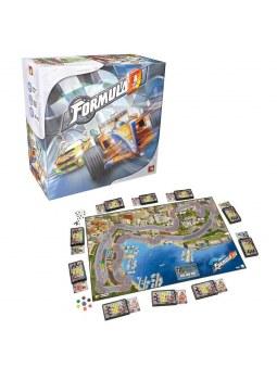 Formula D jeu de société - plateau de course