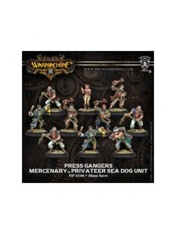 Mercenary Press Gangers Privateer Unit