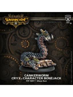 Cryx Cankerworm Character Bonejack