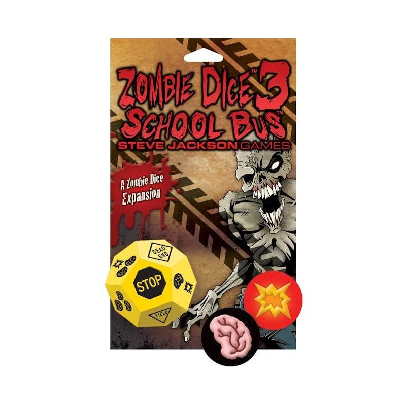 Zombie Dice: 3 School Bus jeu