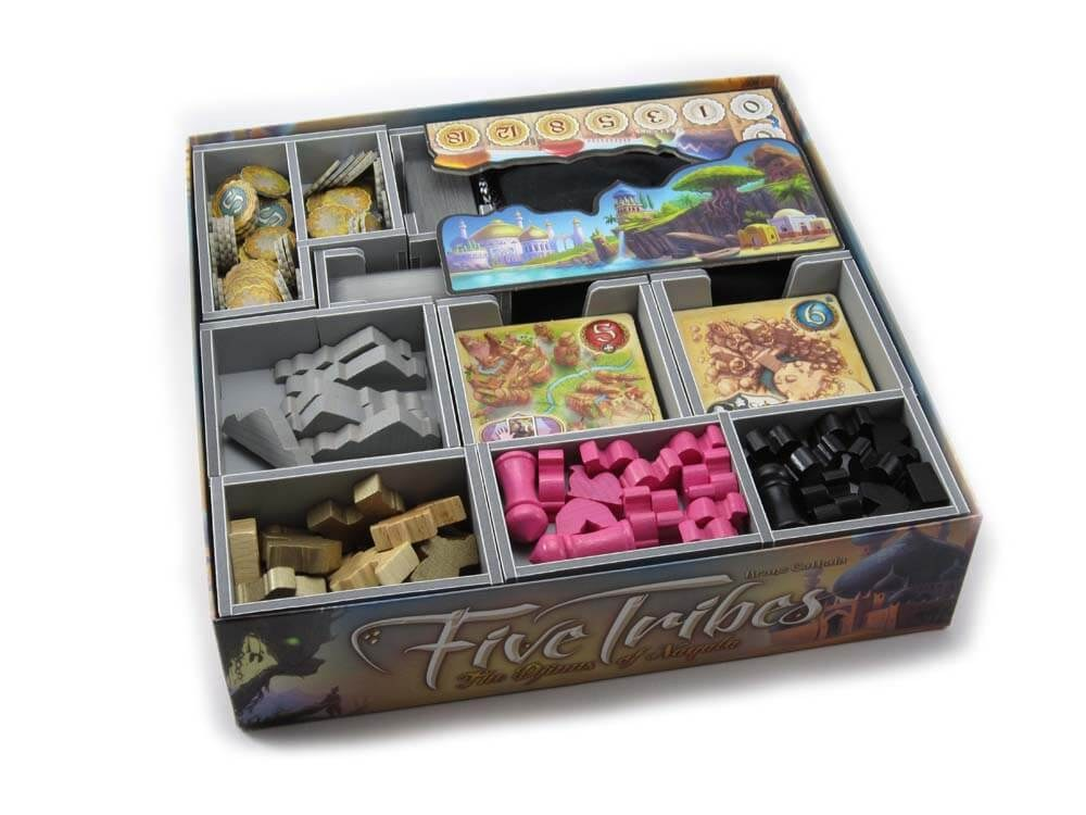 Folded Space: Five Tribes