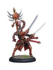 Skorne Archdomina Makeda Warlock warmachine