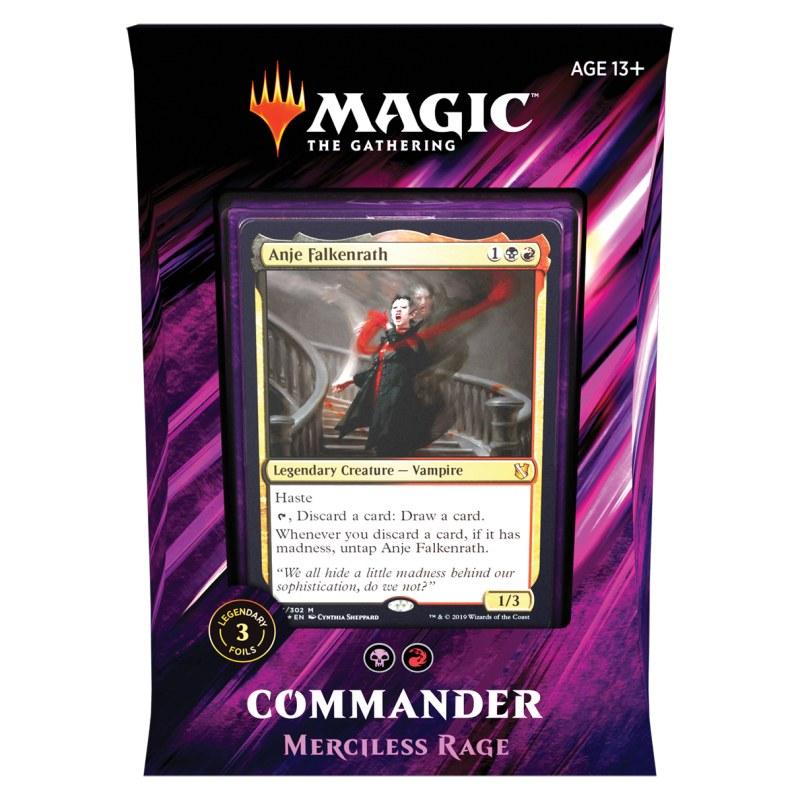 MtG : Commander 2019 - Merciless Rage deck