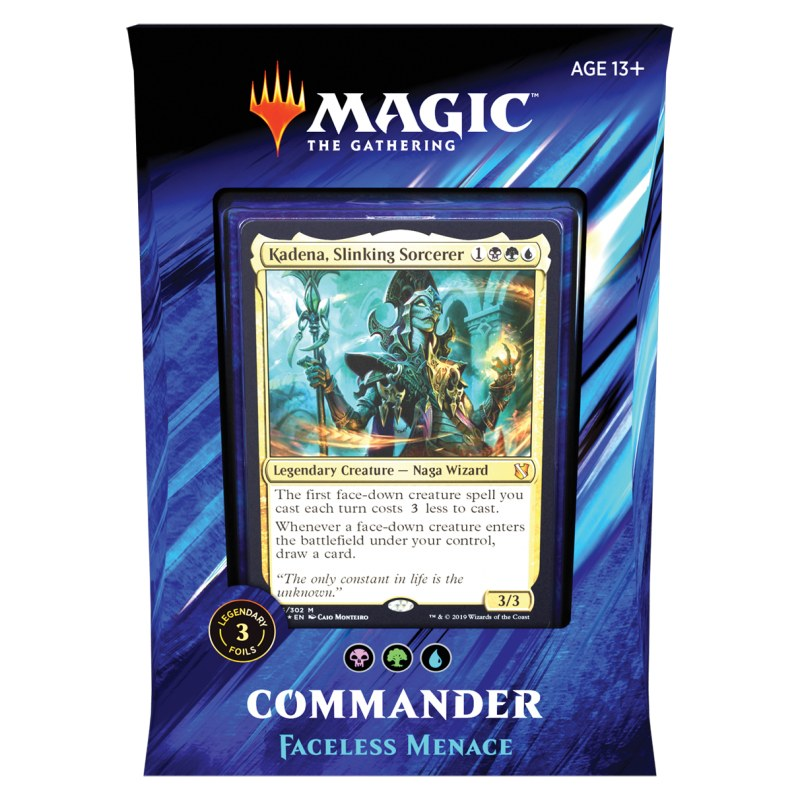 MtG : Commander 2019 - Faceless Menace deck
