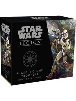 Star Wars Legion: Phase II Clone Troopers Unit