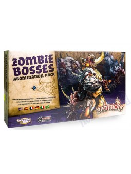 Zombicide Black Plague: Zombies Bosses : Abomination Pack
