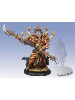 Skorne Lord Arbiter Hexeris Epic Warlock warmachine