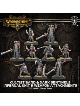 Infernal Cultist Band/Dark Sentinels Unit warmachine