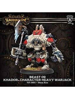Khador Beast-09 Character Heavy Warjack warmachine