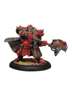 Khador Butcher of Khardov Warcaster warmachine