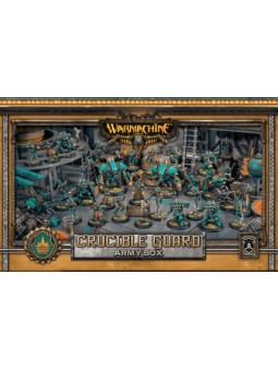 Golden Crucible Army Box warmachine