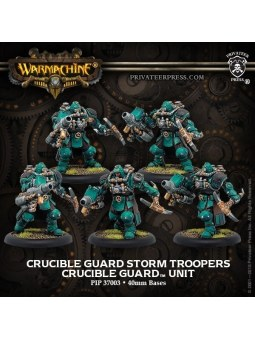 Golden Crucible Assault Troopers Unit warmachine