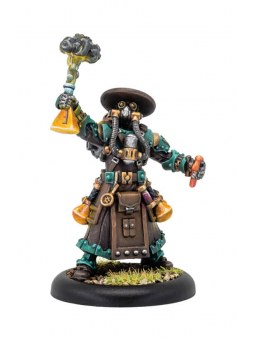 Golden Crucible Aurum Adeptus Syvestro warmachine