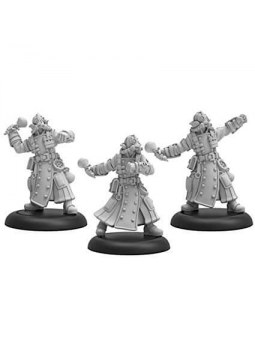 Golden Crucible Combat Alchemists Unit warmachine