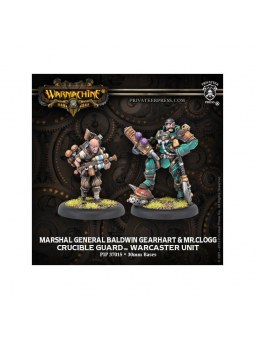 Golden Crucible General Baldwin Clogg Warcaster warmachine
