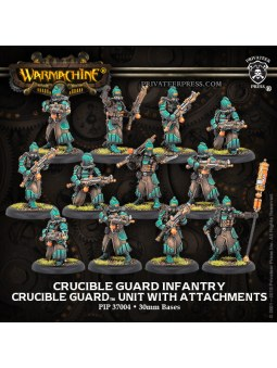 Golden Crucible Guard Infantry Unit warmachine