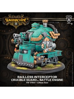 Golden Crucible Railless Interceptor Engine warmachine
