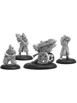 Golden Crucible Rocket Weapon Crew Dragon warmachine