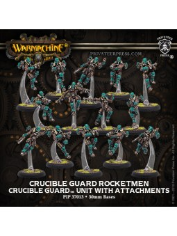Golden Crucible Rocketmen Unit warmachine