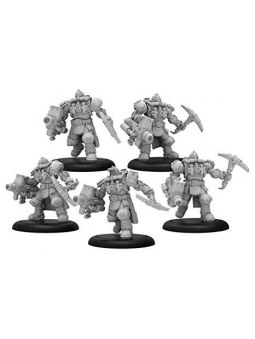 Golden Crucible Storm Troopers Unit (5) warmachine
