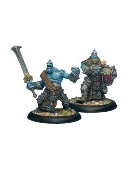 Trollblood Fennblade Officier & Drum Unit horde