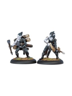 Legion Blighted Archer Officer & Ammo Porter horde