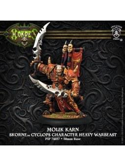 Skorne Molik Kkarn Cyclops Character Warbeast horde