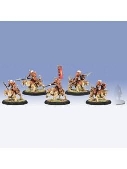 Skorne Praetorian Ferox Cavalry (5) Unit horde