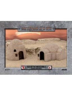 Battlefield in a Box: GW Desert Buildings