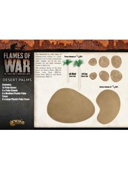 Battlefield in a Box: Desert Palms (x2) décors