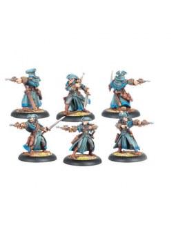 Cygnar Arcane Tempest Gun Mage Unit