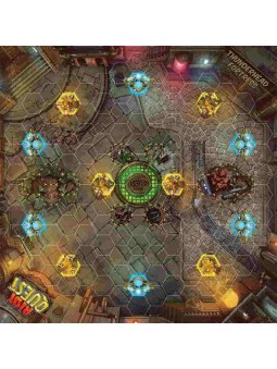 Riot Quest Thunderhead Fortress Playmat