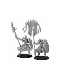 Skorne Praetorian Karax Commander & Standard