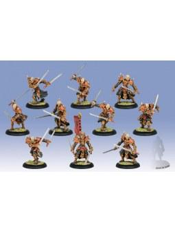 Skorne Praetorian Keltarii/Swordsmen Unit jeu