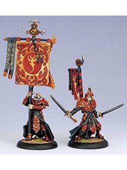 Skorne Praetorian Swordsmen Officer & Standard