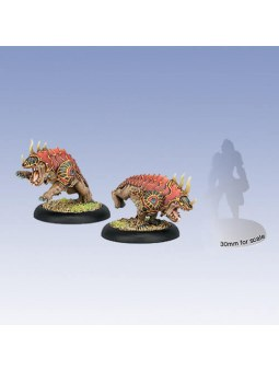 Skorne Reptile Hounds Light Warbeasts hordes