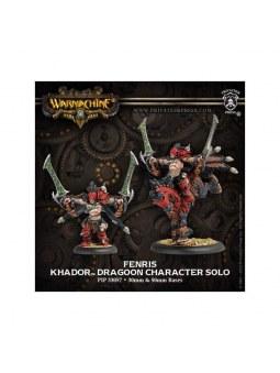 Khador Fenris Character Dragoon warmachine