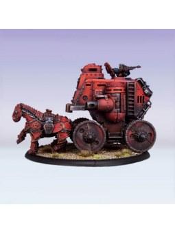 Khador Gun Carriage Cavalry Battle Engine warmachine